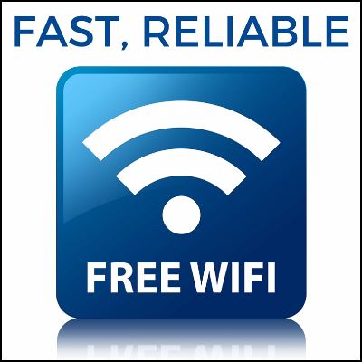 Fast, Reliable, Free WiFi